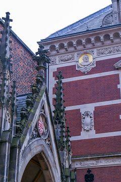 Utrecht - Domtuin en universiteit van Wout van den Berg