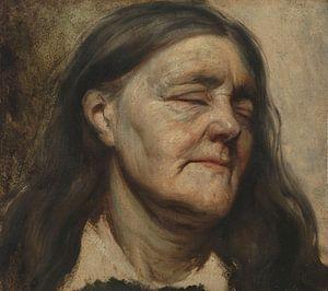 Studie van een oude vrouw, Matthijs Maris