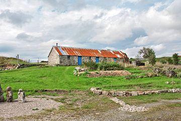 Typical Scottish cottage sur Hans Kwaspen