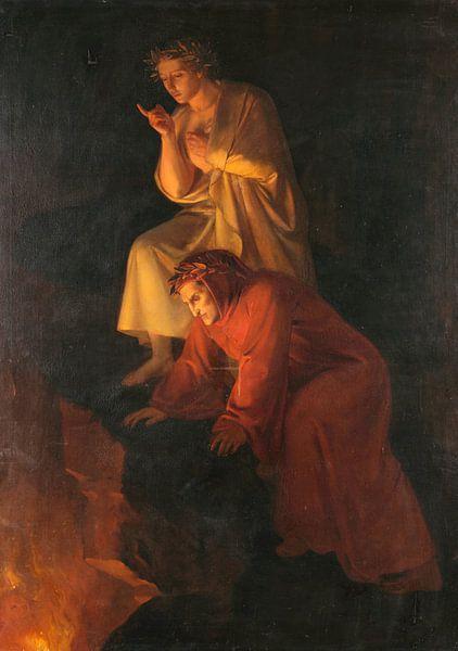 Dante und Virgil, Rafaël von Meesterlijcke Meesters