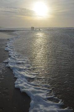 Strandwandeling van Corinna Vollertsen