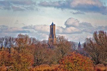 De Eusebiustoren in Arnhem. van Jurjen Jan Snikkenburg