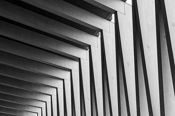 Linienspiel horizontal von Michael Roubos