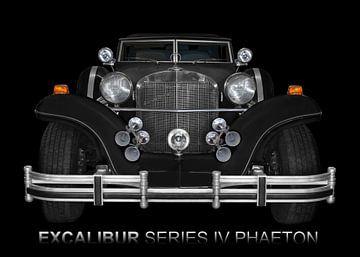 Excalibur Serie IV in zwart van aRi F. Huber