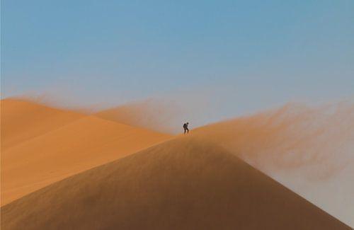 Eenzame Hoogte (Winnende foto National Geographic Fotowedstrijd 2018)