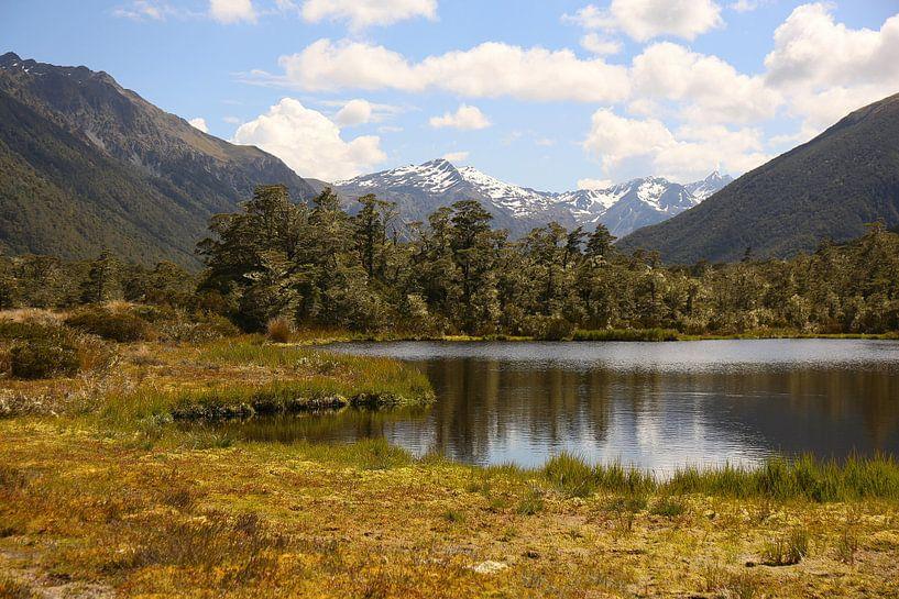 Schlüsselgipfelsee - Neuseeland von Shot it fotografie