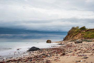 Die Küste der Ostsee bei Meschendorf von Rico Ködder