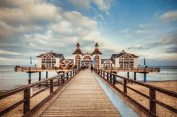 Seebrücke Sellin von Steffen Gierok