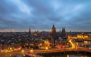 Amsterdam's view van Oscar Beins