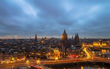 Amsterdam's view von Oscar Beins