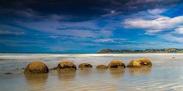 Moeraki Boulders van Antwan Janssen