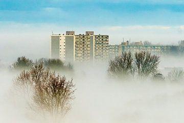 Mist in Purmerend van E. Ruis