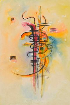 Waterverf nr. 325, Wassily Kandinsky