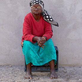 Portret van een Creoolse vrouw van Jeroen Kleiberg