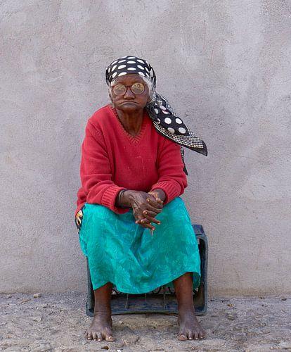Portret van een Creoolse vrouw