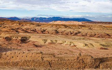 Kleurrijke woestijn van Stijn Cleynhens