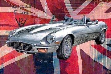 Jaguar E-Type van Berthold Werner