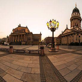 Berlijn Gendarmenmarkt van Frank Herrmann