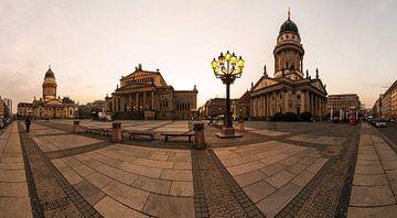 Le marché du travail de Berlin (Gendarmenmarkt)