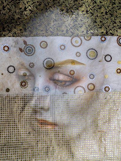 The white face with sensual eyes van Gabi Hampe