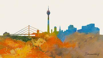 Düsseldorf in a nutshell van Harry Hadders