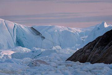 Middernachtzon in Groenland van Ralph Rozema