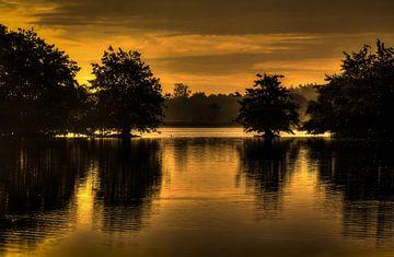 Reflections as sunrise sur Peter Westerik