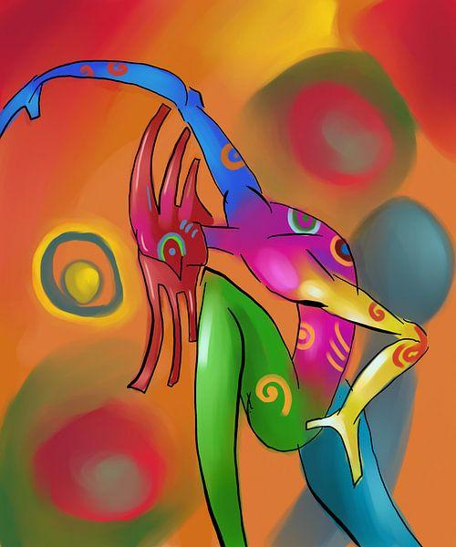 Schilderij New Creatives - een Abstract Schilderij van Kunst Company