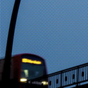 S-Bahn trein Hamburg