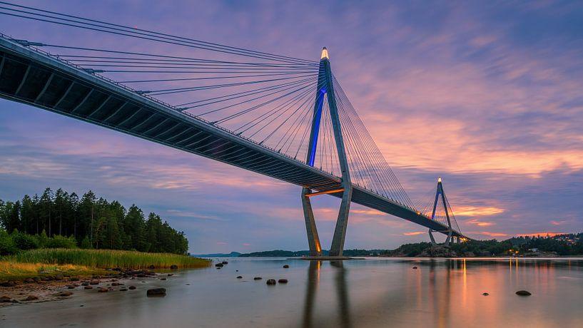 Uddevalla brug, Zweden van Henk Meijer Photography
