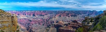 Breed panorama van de Grand Canyon van Rietje Bulthuis
