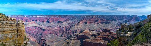 Breed panorama van de Grand Canyon