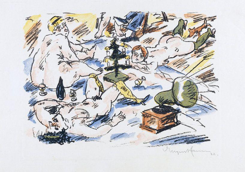 Bordell, JOACHIM RINGELNATZ, 1923 von Atelier Liesjes