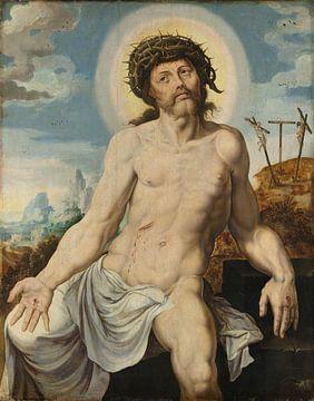 Christus als Mann der Sorgen, Maarten van Heemskerck