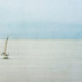Auf dem Wattenmeer von Greetje van Son