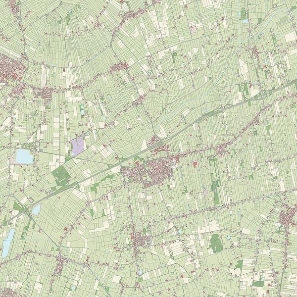 Kaart vanMarum van Rebel Ontwerp