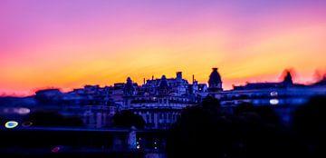 Zonsondergang in Parijs van Capturedlight.nl Annet & Michel