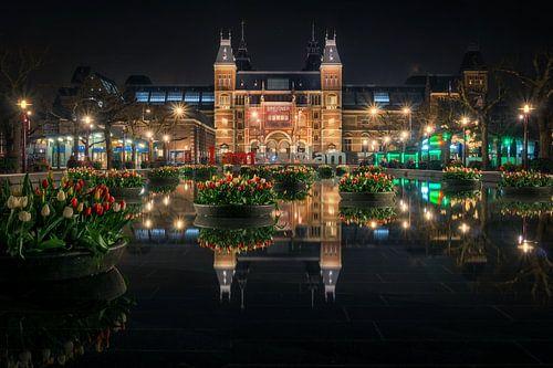 Tulips from Amsterdam van Martin Podt