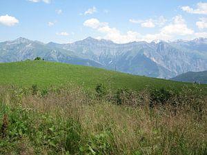 Berglandschap Alpen van