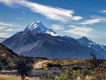 Ein Roadtrip zum Mount Cook National Park in Neuseeland von Rik Pijnenburg