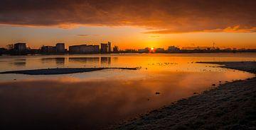 Zonsopkomst Deventer aan de IJssel von Patrick Rodink