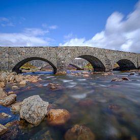 Sligachan Old Bridge von Koos de Wit