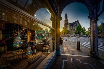 La Westerkerk à Amsterdam sur Rene Siebring