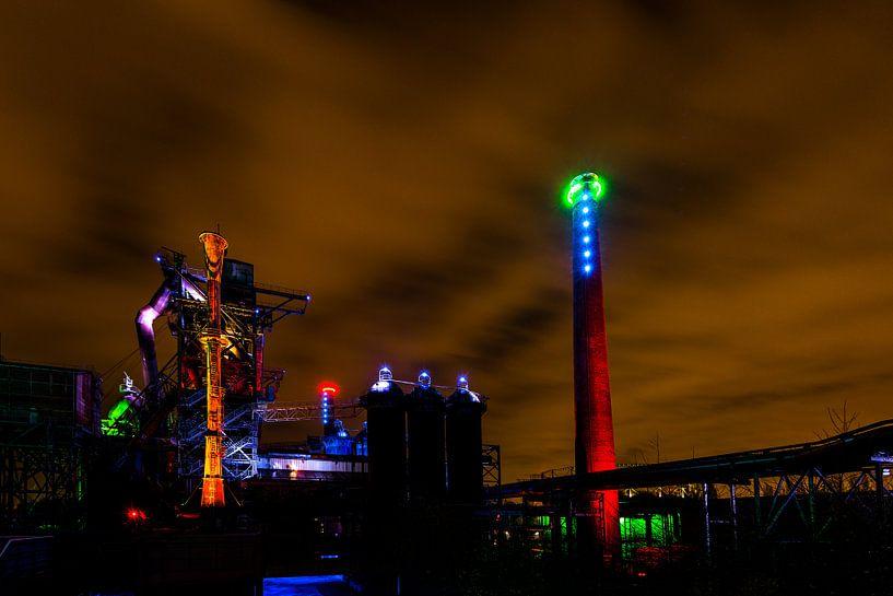 Ruhrgebied Duitsland - Industrie fotografie -1  van Damien Franscoise