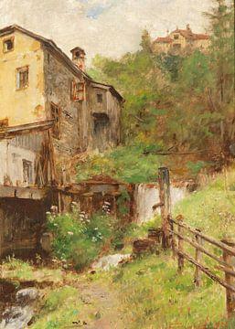 Alte Mühle von Antonije Lazovic