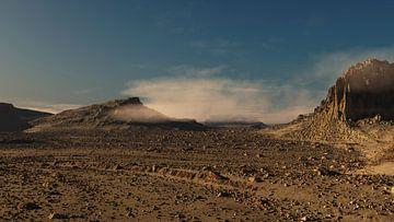 Ruw berglandschap van Ysbrand Cosijn