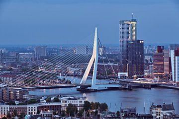 Erasmus Brug - Rotterdam van David Bleeker