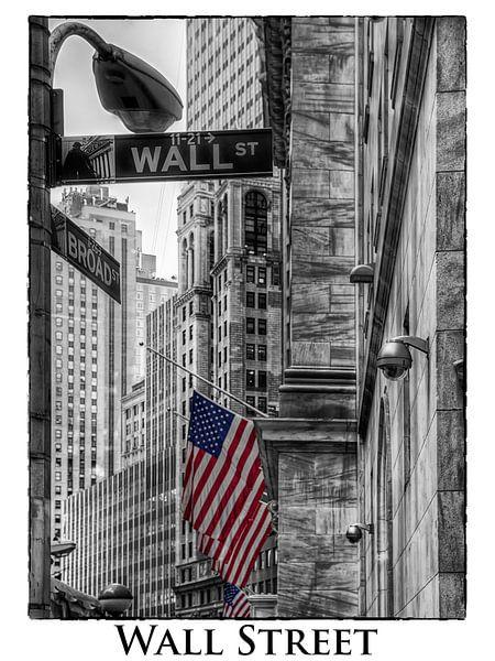 Wall Street New York van Carina Buchspies
