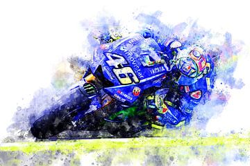 Valentino Rossi von Theodor Decker