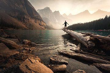 Moraine Lake van